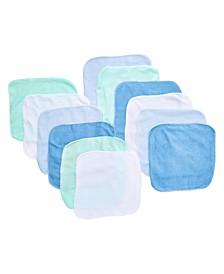 Baby Boys and Girls 12-Piece Lollipop Washcloth Gift Set