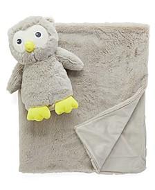 Jesse Lulu Baby Boys and Girls Plush Blanket and Toy Set