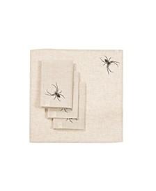 Halloween Creepy Spiders Napkins - Set of 4