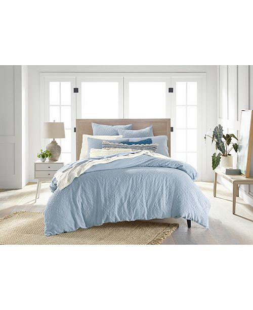 Lucky Brand Taos Cotton 2-Pc. Matelasse Twin/Twin XL Duvet Cover Set, Created for Macy's
