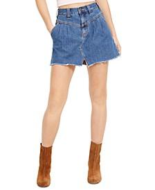 Sidecar Mini Cotton Skirt