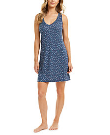 Alfani Knit Super Soft Stretch Nightgown, Created for Macy's