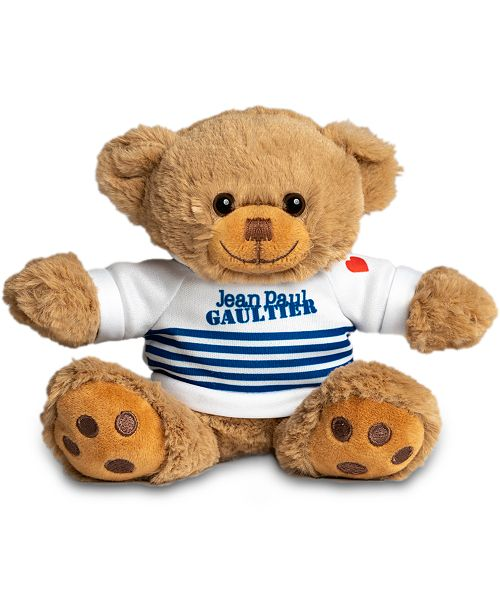 Jean Paul Gaultier Receive a Complimentary teddy bear with any jumbo spray purchase from the Jean Paul Gaultier Le Male Fragrance Collection