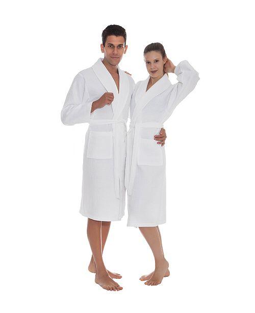 OZAN PREMIUM HOME Venice Unisex Turkish Cotton Bath Robe