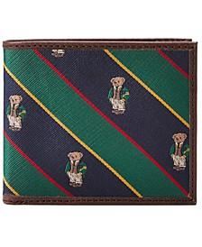 Men's Polo Bear Tie-Stripe Billfold