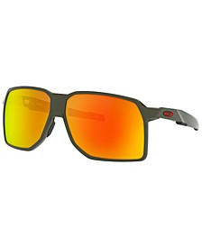 Portal Polarized Sunglasses, OO9446 62