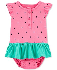 Baby Girls Watermelon Bodysuit