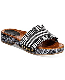 Women's Brayden Raffia Sandals