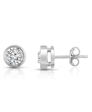 Diamond Studs (1 ct. t.w.) in 14K White Gold