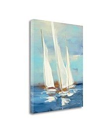 Summer Regatta III by Julia Purinton Giclee Print on Gallery Wrap Canvas