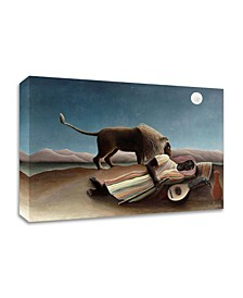 The Sleeping Gypsy 1897 by Henri Rousseau Print on Canvas