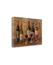 Wine Tasting by Danhui Nai Giclee Print on Gallery Wrap Canvas