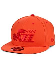 Utah Jazz Custom City 9FIFTY Snapback Cap