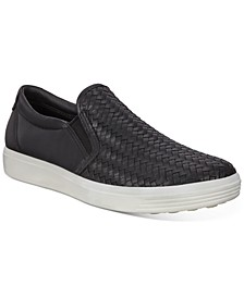 Women's Soft 7 Woven Slip-On Sneakers
