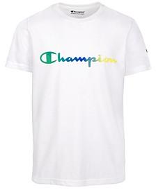 Big Boys Ombré Script Logo T-Shirt