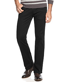 Alfani Pants, Created for Macy's, 5-Pocket Slub Twill Pants, Created for Macy's