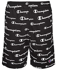 Big Boys Champion Script French Terry Shorts