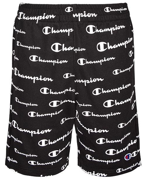 Champion Big Boys Champion Script French Terry Shorts