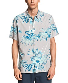 Quiksilver Men's Robins Estate Short Sleeve Shirt