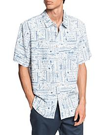 Quiksilver Men's Model Island Short Sleeve Shirt