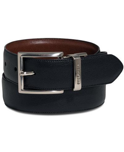 tommy hilfiger herren g rtel new denton belt einfarbig gr 105 cm schwarz black 090. Black Bedroom Furniture Sets. Home Design Ideas