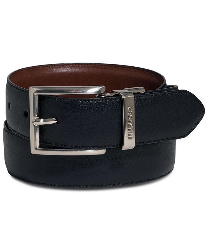 Tommy Hilfiger - Men's Big & Tall Reversible Dress Belt