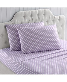 MHF Home Kids Polka Dots Galore Queen Sheet Set