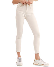 Free People Raw High-Rise Jeggings