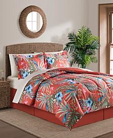 CLOSEOUT! Sunham Paradise Island 8-pc Comforter Set