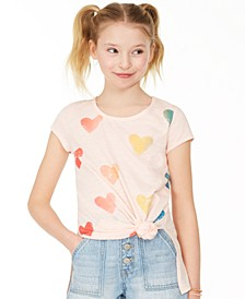 Big Girls Ombré Hearts T-Shirt, Created for Macy's