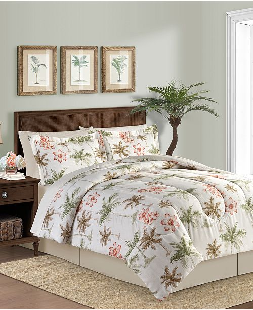 Fairfield Square Collection Palm Breeze 8-Pc. California King Comforter Set