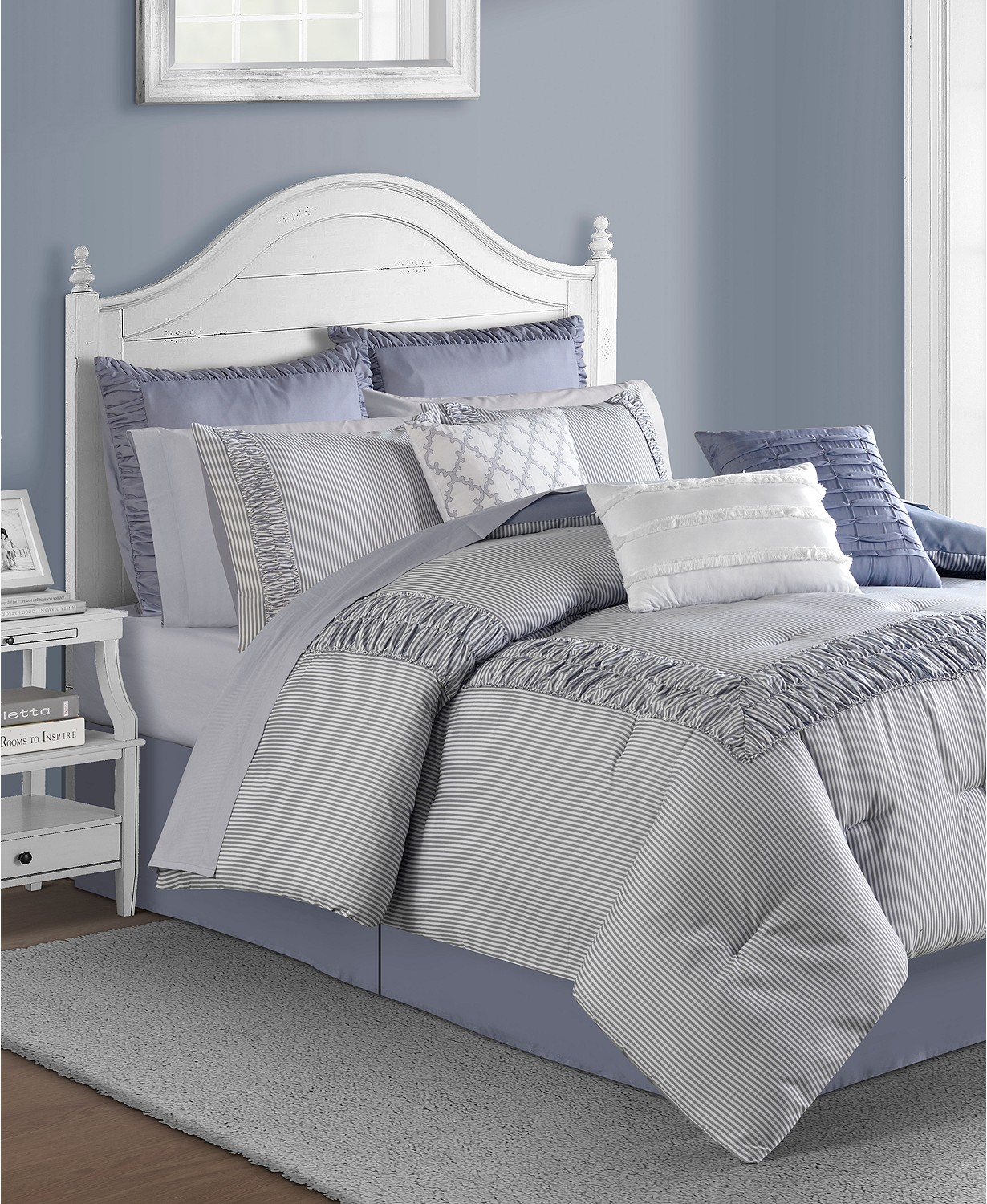 (70% OFF Deal) Morgan 14-Pc. King Comforter Set $137.99