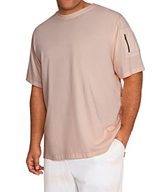 MVP Collections Men's Big & Tall Cargo Pocket Tee