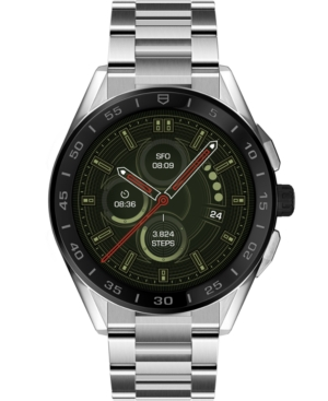 Tag-Heuer-Modular-Connected-Mens-Swiss-Stainless-Steel-Bracelet-Smart-Watch-45mm