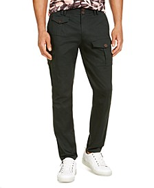 INC Men's Meadow Green Twill Pants, Created for Macy's