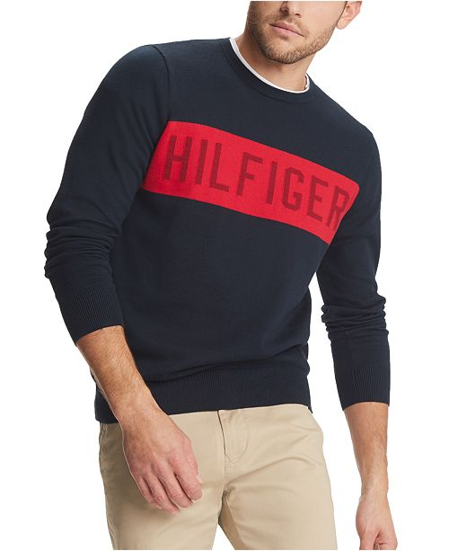 Tommy Hilfiger Men's Paul Logo Sweater