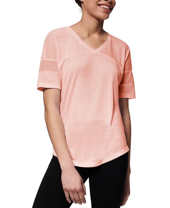 Marc New York Mesh-Inset Active T-Shirt