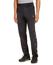 Men's Contrast-Print Track Pants