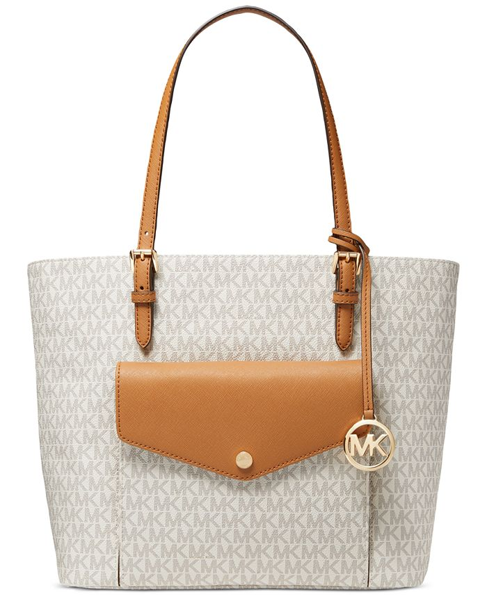 Michael Kors - Jet Set Leather Logo Tote