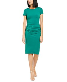 INC Ruched-Side Sheath Dress, Created For Macy's