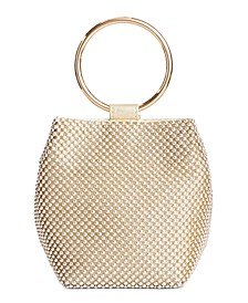 INC Bangle Pouch Clutch, Created for Macy's