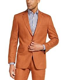 Men's Classic-Fit  Rust Suit Separate Jacket