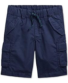 Little Boys Cotton Ripstop Cargo Shorts