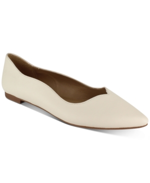 Pamela Scalloped Flats Women's Shoes