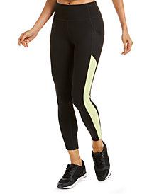 Calvin Klein Performance Textured-Panel Leggings