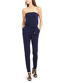Strapless D-Ring Jumpsuit