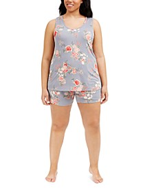 Plus Size Lauren Camishort Set