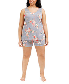 Flora by Flora Nikrooz Plus Size Lauren Camishort Set