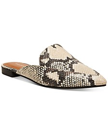 Grandie Slip-On Tailored Mules
