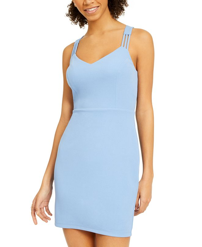 Jump Juniors' Triple-Strap Bodycon Dress